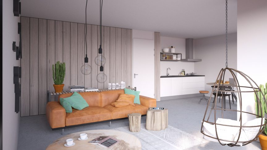 Tussenappartement